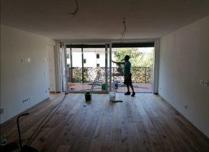Bauendreinigung beim Marillenanger in Schlanders
